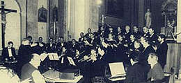the old choir